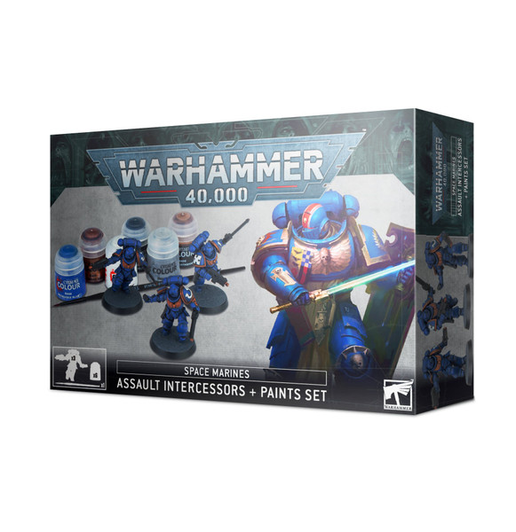 Space Marine Assault Intercessors Paint Set