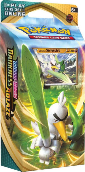Pokemon TCG: Sword & Shield 3 - Darkness Ablaze Theme Deck: Sirfetch'd