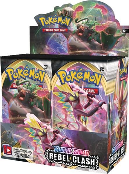 Pokemon TCG: Sword & Shield 2: Rebel Clash Booster (Sealed Box of 36)