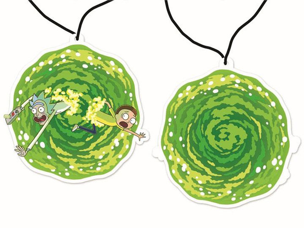 RICK AND MORTY AIR FRESHENER WORM HOLE