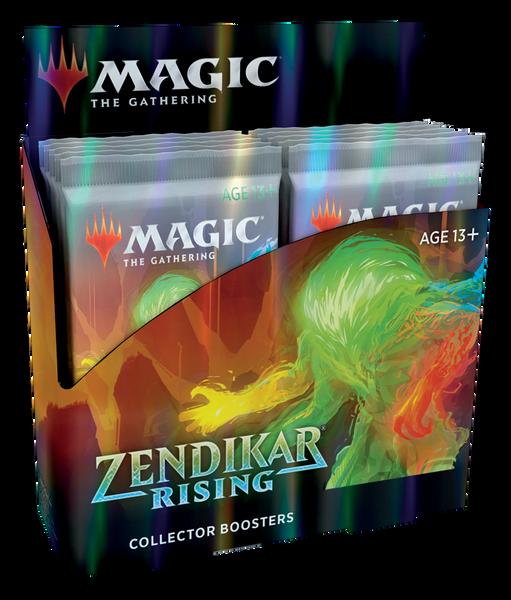 MTG: Zendikar Rising Collector Booster - Sealed Box of 12