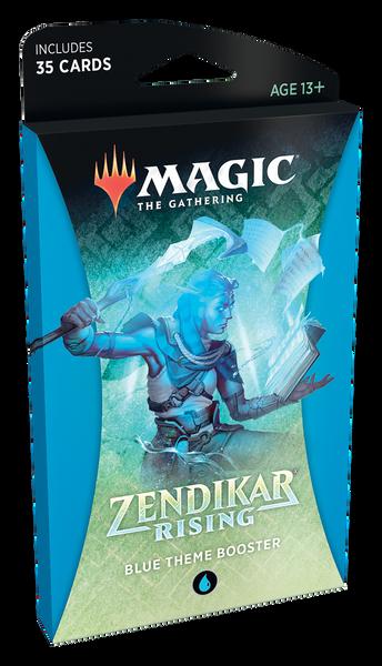 MTG: Zendikar Rising Blue Theme Booster