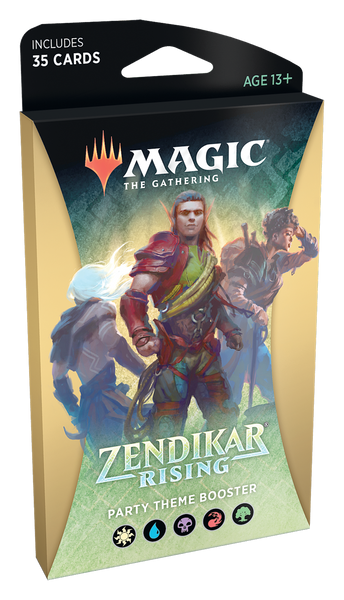 MTG: Zendikar Rising Multi-Colour Theme Booster
