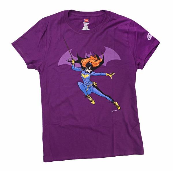 Batgirl Attitude By Tarr Womens T/S MED