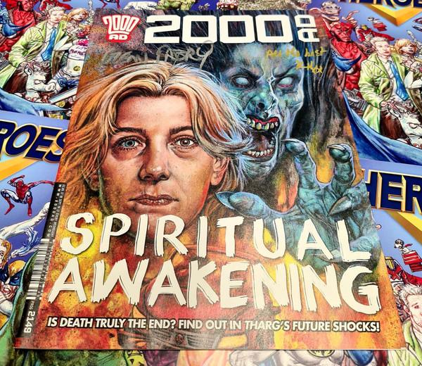 2000 Ad Prog #2149 Signed By Glenn Fabry & Karen Holloway