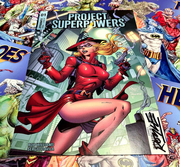 Project Superpowers #1 Signed by John Royle