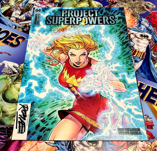 Project Superpowers #4 Signed by John Royle
