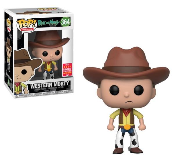 Pop Rick & Morty: Cowboy Morty (Exc) #364