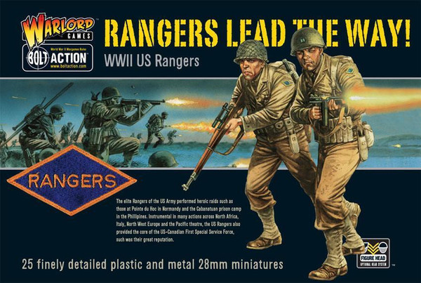 Bolt Action: US Rangers Lead The Way!