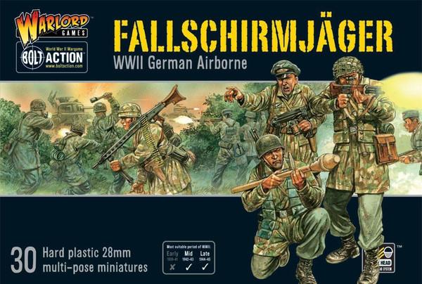 Bolt Action: Fallschirmjager (German Paratroopers)