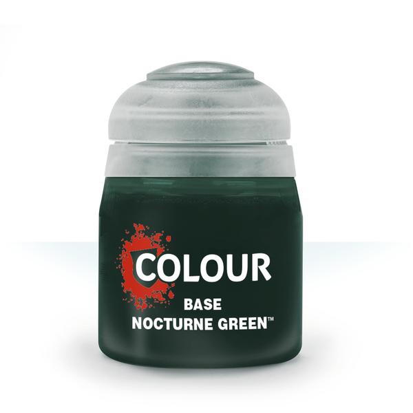 Citadel Colour: Base: Nocturne Green (12ml)
