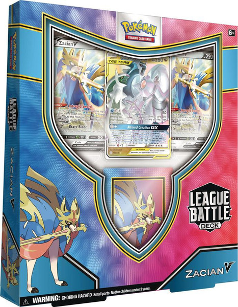 Pokemon TCG: Zacian V League Battle Deck