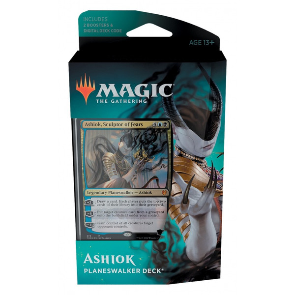 MTG: Theros Beyond Death Ashiok Blue / Black Planeswalker Deck