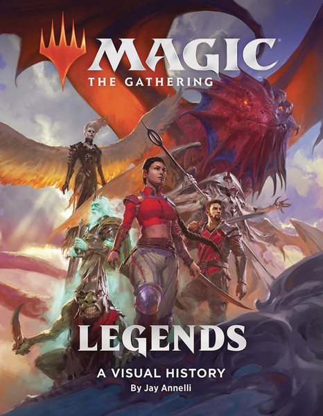 Magic The Gathering Legends Visual History HC
