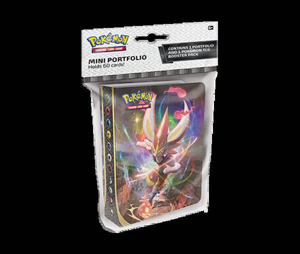 Pokemon TCG: Sword & Shield 2 Rebel Clash Mini Portfolio with Booster