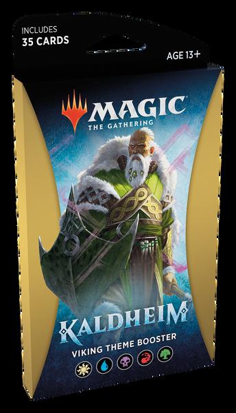 MTG: Kaldheim Gold Theme Booster