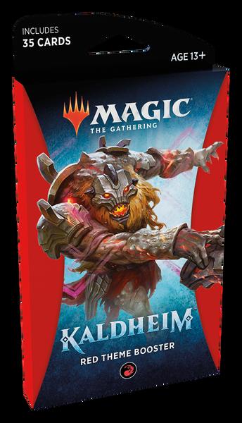 MTG: Kaldheim Red Theme Booster