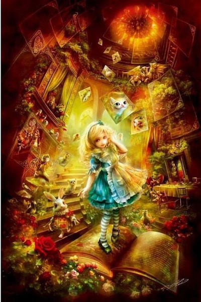 JIGSAW PUZZLE: ALICE RE:DO 1000PCS