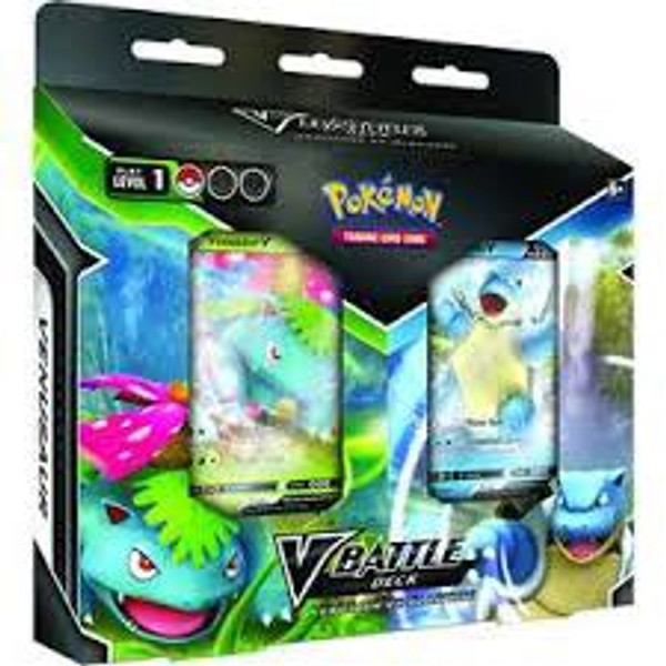 Pokémon TCG: V Battle Deck—Venusaur vs. Blastoise