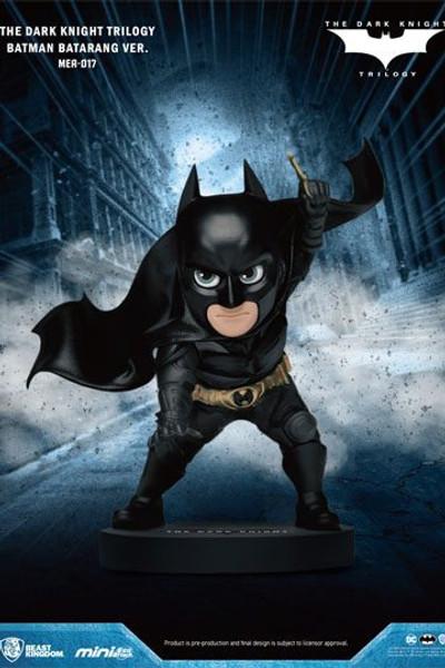 Dark Knight Trilogy Mini Egg Attack Figure Batman Batarang Version. 8 cm