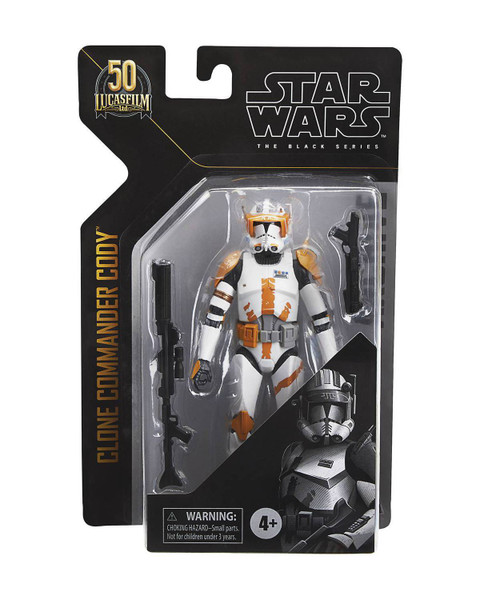 "Star Wars Black Archives 6"" Comander Cody Action Figure"