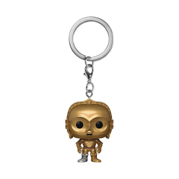 Pocket Pop Star Wars C3PO Keychain