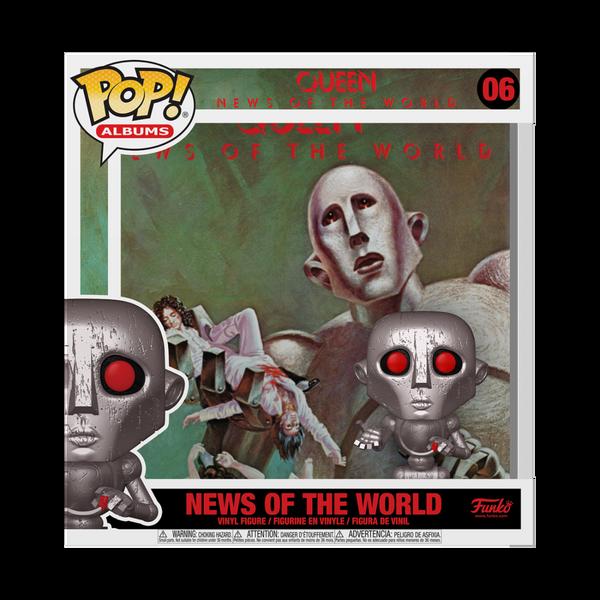 Funko POP! Vinyl: Queen - News of the World #06