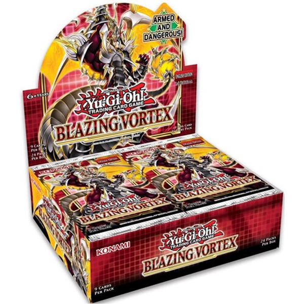 Yu-Gi-Oh TCG: Blazing Vortex Boosters (Sealed Box of 24)