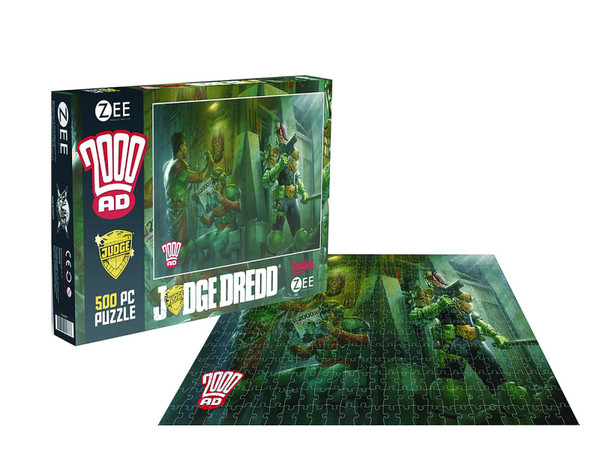 2000Ad Judge Dredd 500 Piece Jigsaw