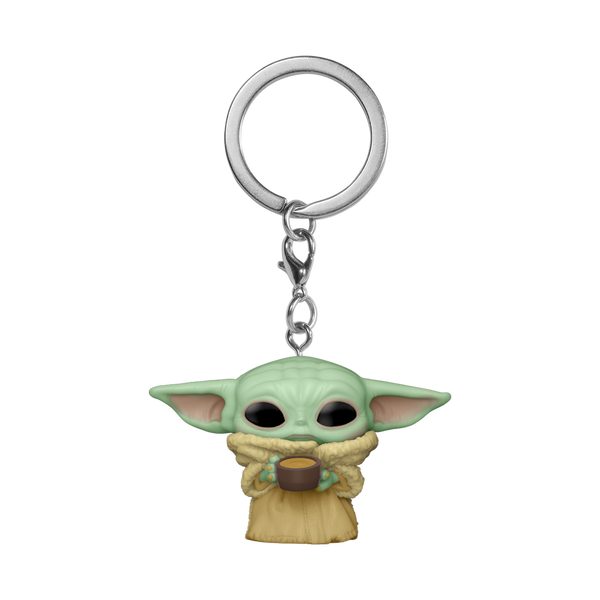 POP Keychain: The Mandalorian - The Child With Cup