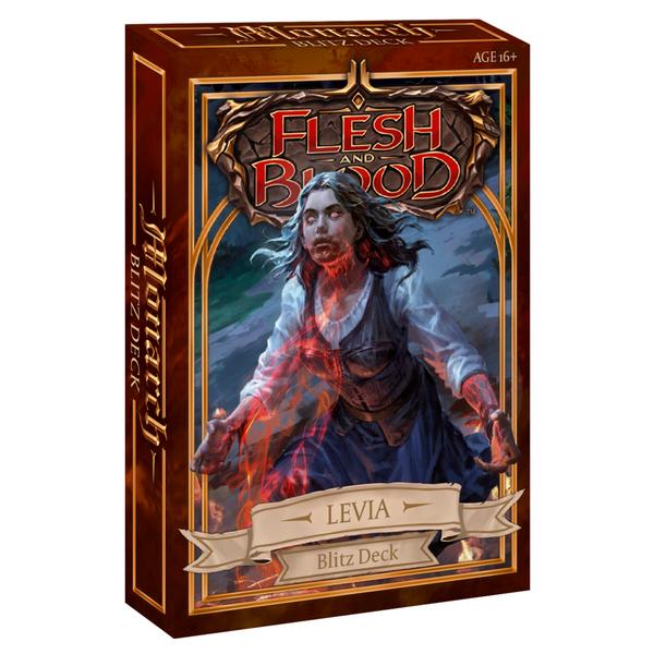 Flesh And Blood TCG: Monarch Blitz Deck - Levia