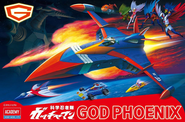 Science Ninja Team Gatchaman God Phoenix - Battle of the Planets