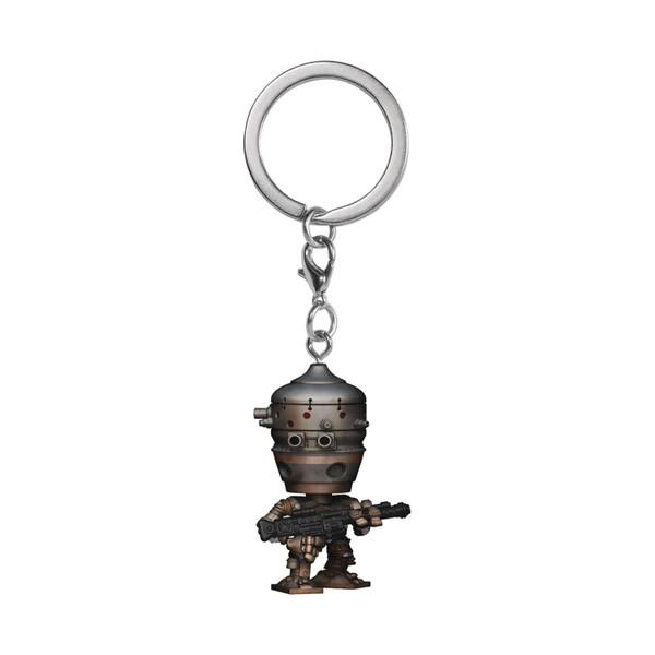Pocket Pop Sw Mandalorian Ig-11 Keychain