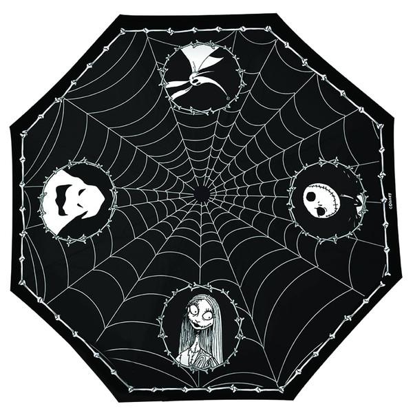 Nightmare Before Xmas Jack & Spider Webs Umbrella