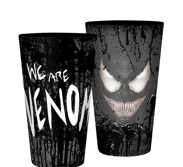 Marvel Venom Large 400Ml Glass