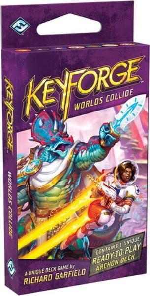 Worlds Collide Deck: Keyforge