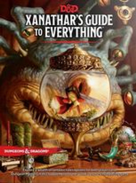 Xanathar's Guide To Everything: Dungeons And Dragons