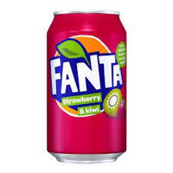 Fanta Strawberry & Kiwi Can 330ml