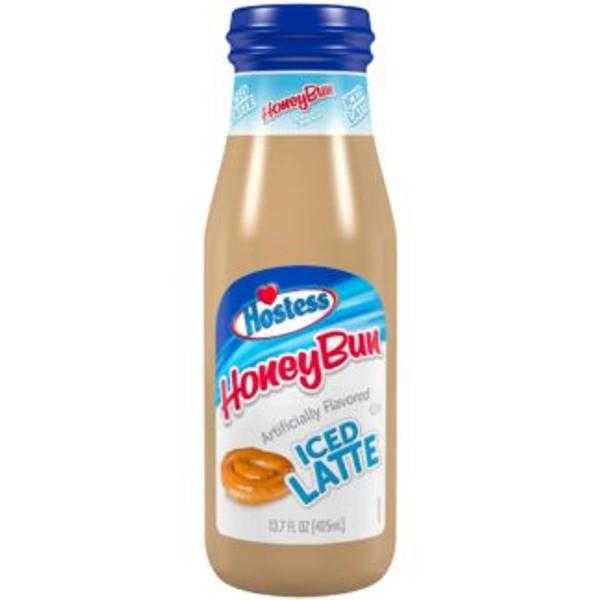 Hostess Iced Latte HoneyBun 405ml