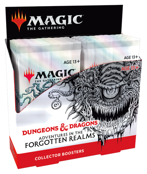 (Sealed Box of 12) MTG: Adventures in the Forgotten Realms Collector Boosters