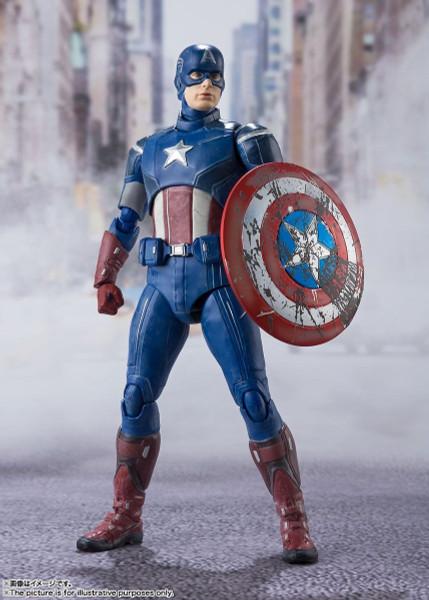 S.H.Figuarts Captain America (Avengers Assemble) Edition (Avengers)