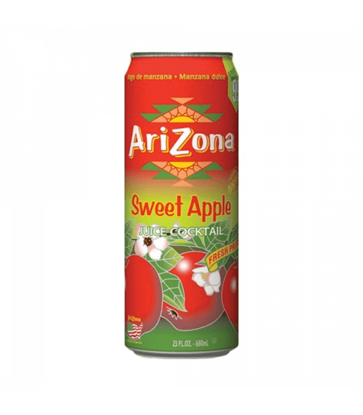 Arizona Sweet Apple Juice Can 680ml