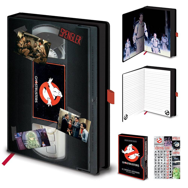 Ghostbusters Vhs A5 Premium Notebook