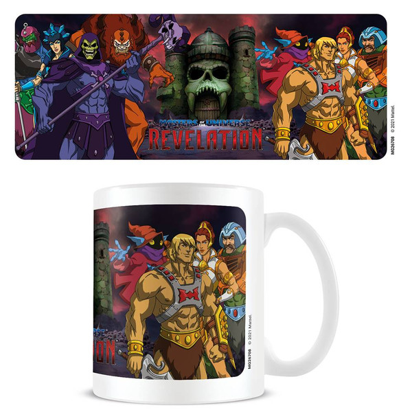 Masters Of The Universe Revelations Panorama Mug