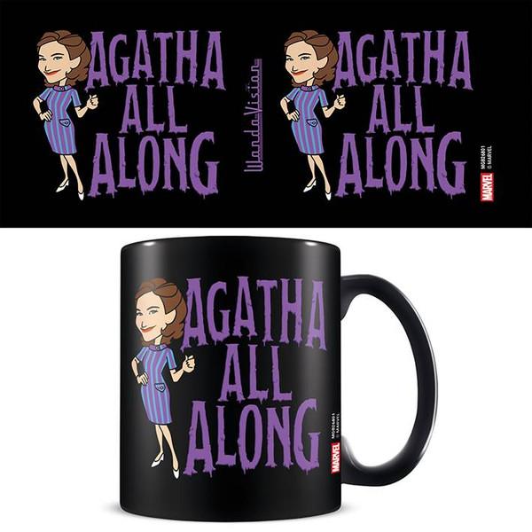 Wandavision Agatha All Along Black Mug