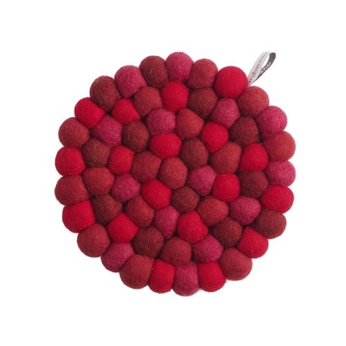 Aveva Design Wool Felt Ball Trivet Hot Pad * back in stock *