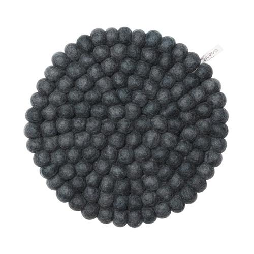 Aveva Design Wool Felt Ball Trivet Hot Pad 10 inch