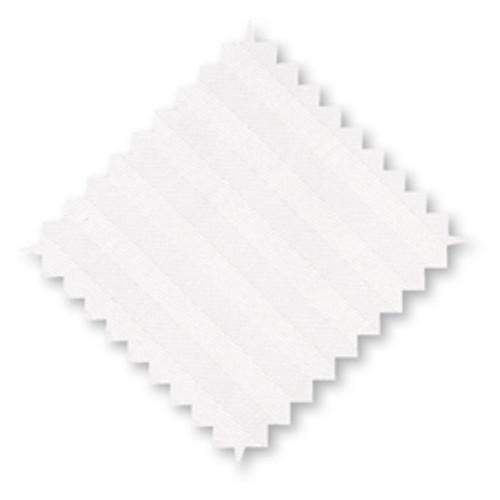 "Cotton Pillow Cases White Stripes *Junior Size* 16x24"" - set of 2"
