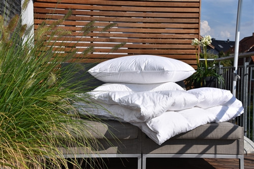 Goose Down Comforter Summer EURO TWIN *long* - back in stock -