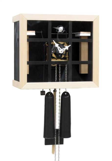 Cuckoo Clock BAUHAUS KUBUS with Window